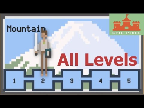 RPG Clicker - All Levels:  Mountain - GamePlay [ Android ] HD -  Part 2