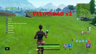 Comment courir plus vite sur FORTNITE (SPEED X2) - FORTNITE PS4/XBOX/PC