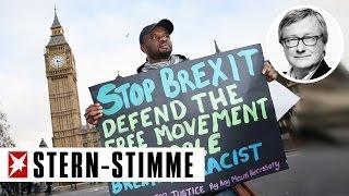 Die Briten werden sich den Brexit noch mal überlegen | Jörges Klartext (Kommentar)
