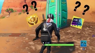 Fortnite WEEK 2 (Loading Screen 2) Hidden Fortbyte (Season 9 Secret BattleStar/Fortbytes)