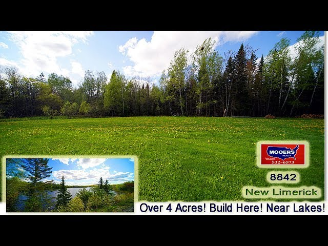 Land For Sale In Maine | New Limerick ME 4 Acres Maine Real Estate | MOOERS REALTY 8842