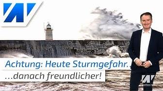 UNWETTER: Heute Sturmgefahr! Dann kommt der Frühling nach Deutschland!