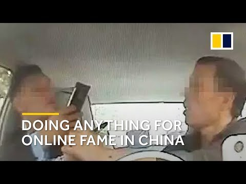 China: people are doing anything for online fame