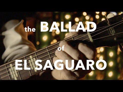 the ballad of el saguaro - plasma cut cactus lamps