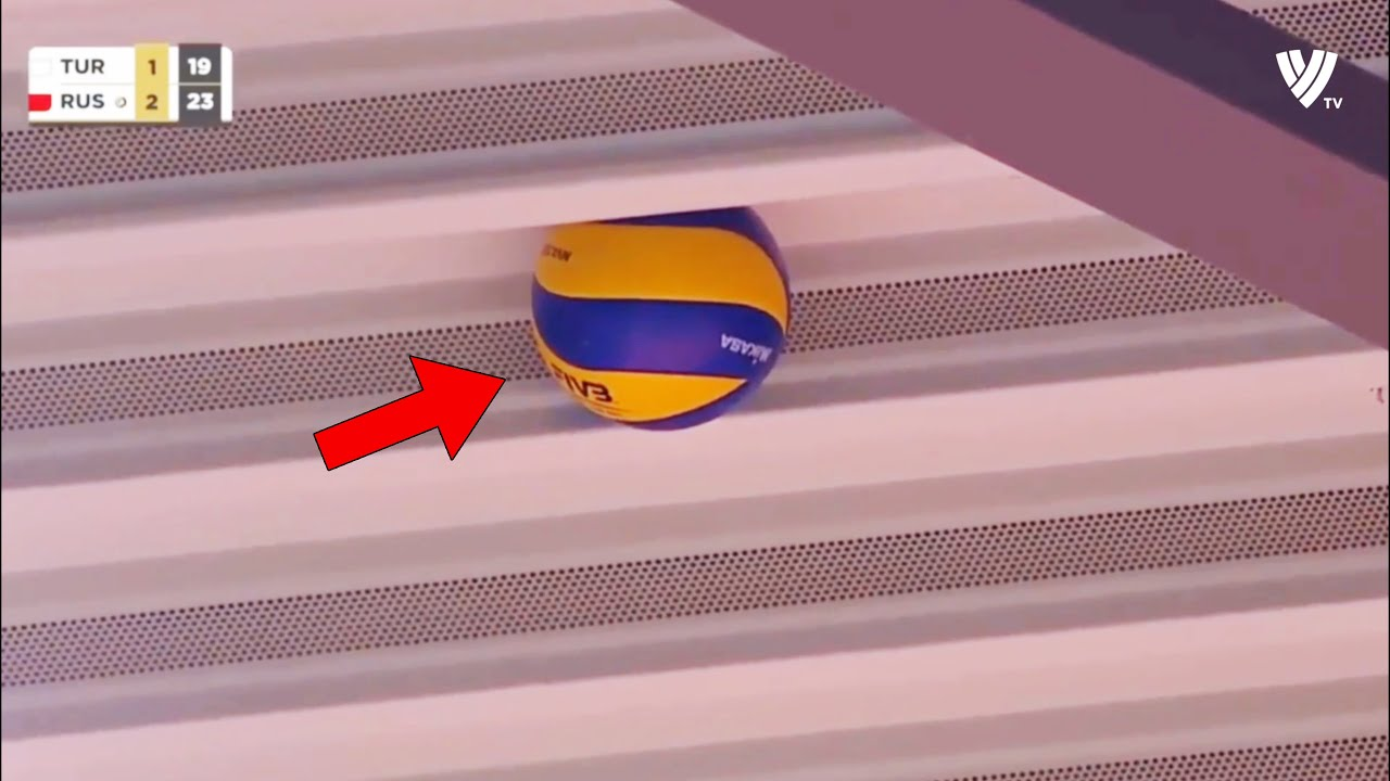 If It Were Not Filmed No One Would Believe That This Happened in Volleyball