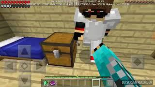 Сериал 1 Серия приключения бандита в Minecraft PE