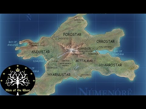 The Rise and Downfall of Númenor