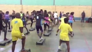 Soshanguve TUT aerobics by Ayanda Nkosi