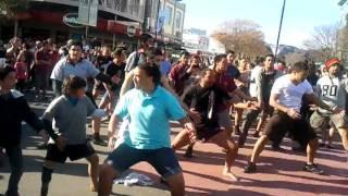 Gizzy Haka Flash Mob