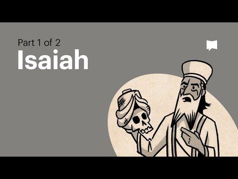 Read Scripture: Isaiah 1-39