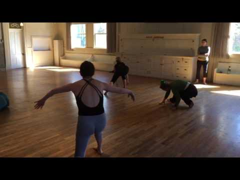 Linda Bair's class in Nevada City dance festival 2017