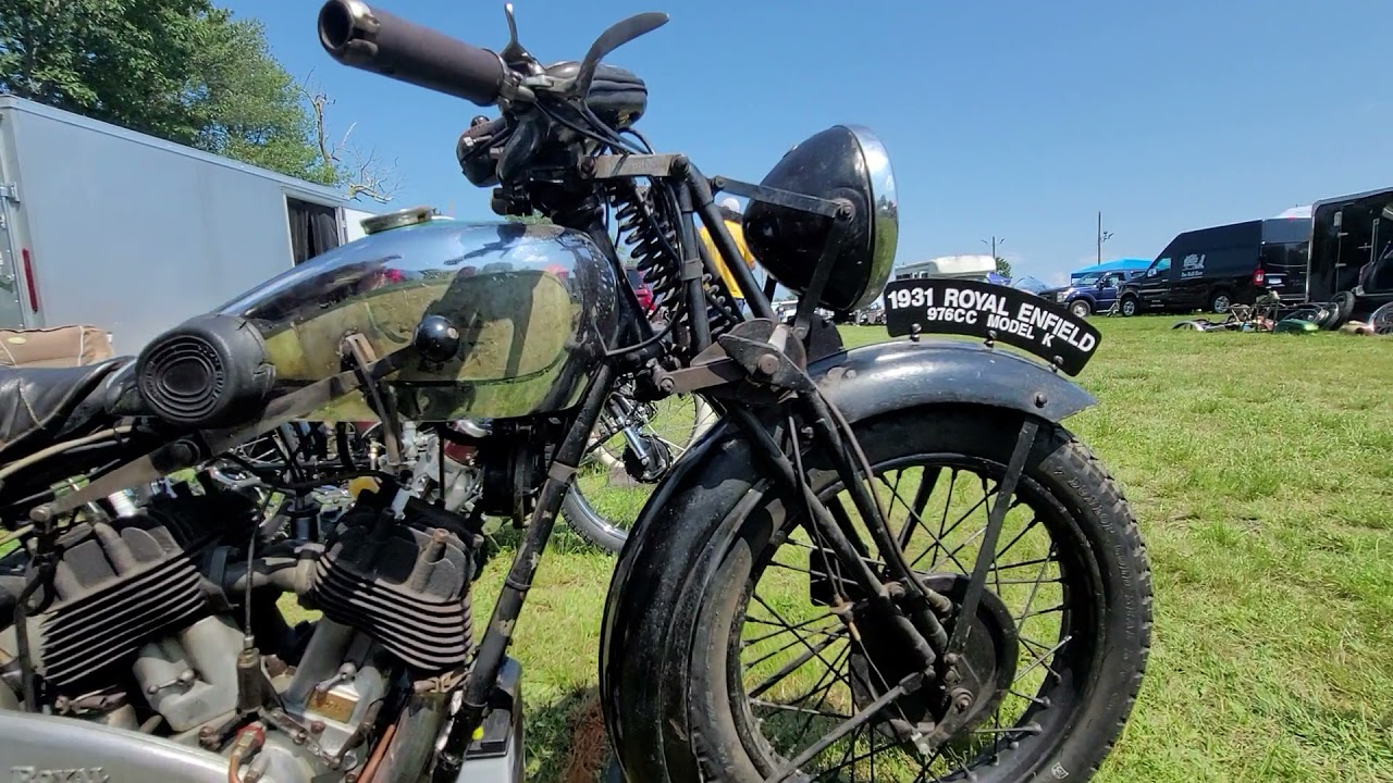 Download NATIONAL ANTIQUE AMCA EVENT WORLDS BEST CLASSIC MOTORCYCLES @ TERRYVILLE CT 2021 PART 2