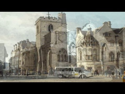 Views Around Oxford through Time - In Motion 3D!