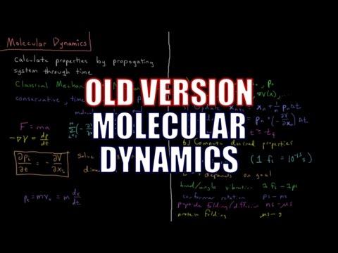 Computational Chemistry - Molecular Dynamics (Old Version)