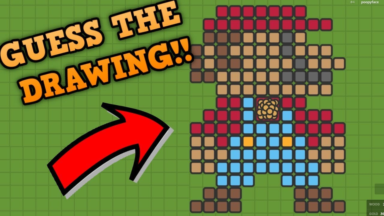 ZOMBS.IO GUESS THE DRAWING!! // New Update (Flamethrower ...