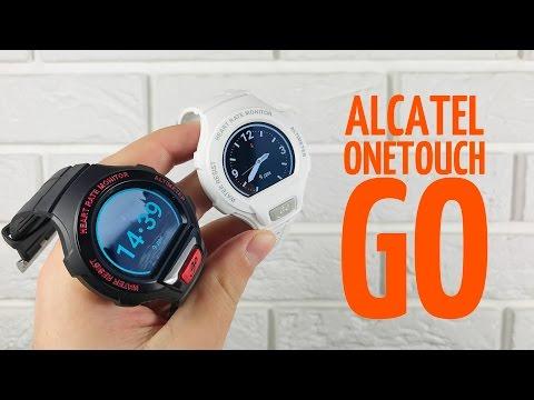 Обзор Alcatel OneTouch Go Watch - доступные смарт часы