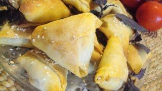 Крэатопитакья - греческие пирожки с мясом