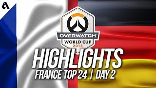 France vs Germany | Overwatch World Cup 2018 Paris Qualifier Day 2