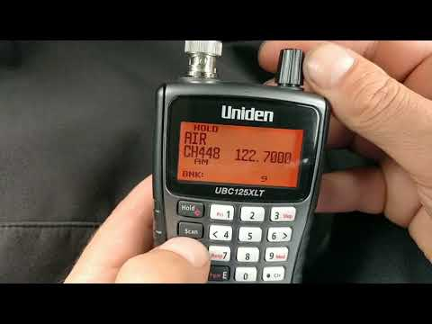 Uniden UBC125XLT how to manually add channels