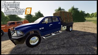 HAULING HAY AND ALMOST BANKRUPT!! - Farming Simulator 19
