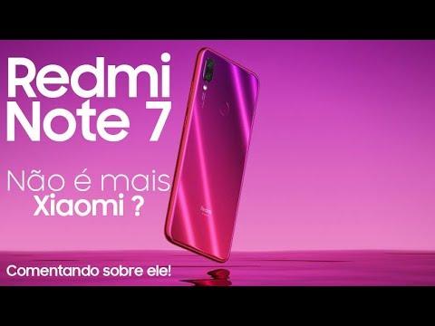 Redmi Note 7 e 7 PRO by Xiaomi - JÁ É UM SUCESSO? COMENTANDO SOBRE ELE!