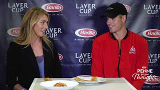 Penne for Your Thoughts – Mikaela Shiffrin & John Isner