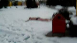 sebevrazi na sněhu v Bešeňové - 2007 únor