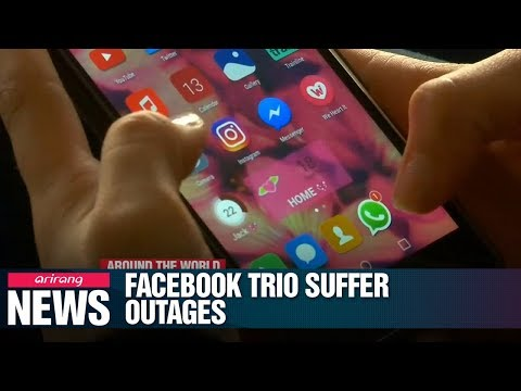 Facebook, Instagram and WhatsApp suffer outages