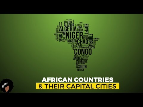 African Countries And Their Capitals
