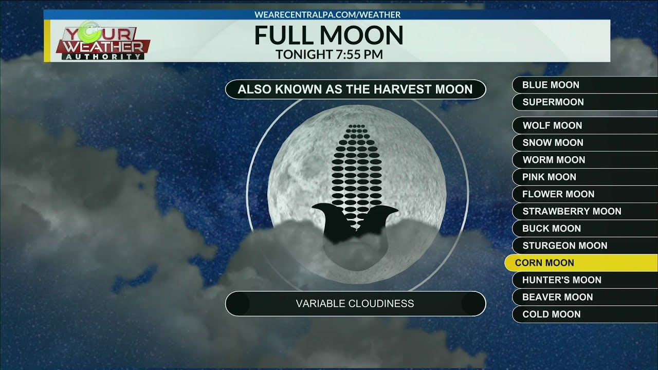 The full Harvest Moon of 2021 rises tonight_ Here's what to look for