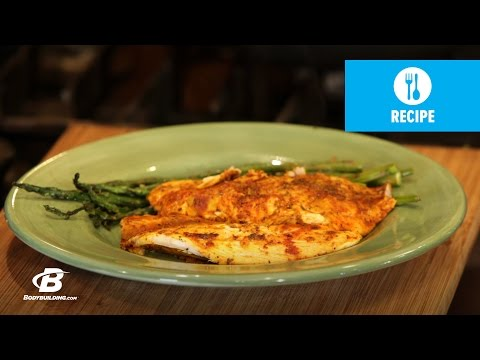 Lime And Curry Tilapia | Healthy Recipes