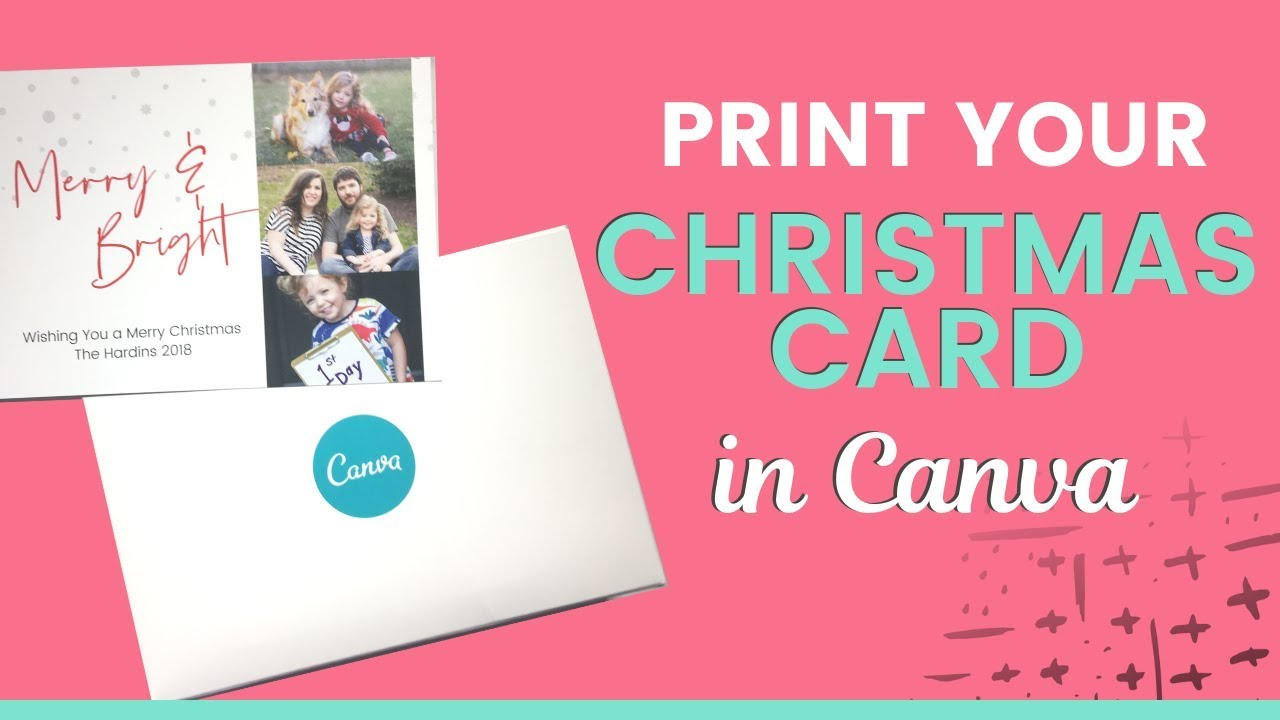 Christmas Cards To Print.Print Christmas Cards With Canva Review Of Canva Printing