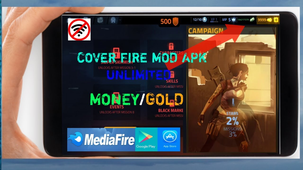 Download Cover Fire Latest Mod APK || Unlimited Money ...