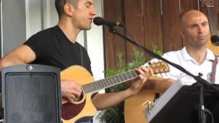 Kirby sur Seine chant au restaurant Olivier a Houston 4 avril 2014