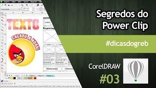 CorelDRAW - Segredos do PowerClip #dicasdogreb