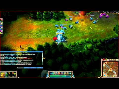 Forever alone in League of legends. ;( (weird glitch.)