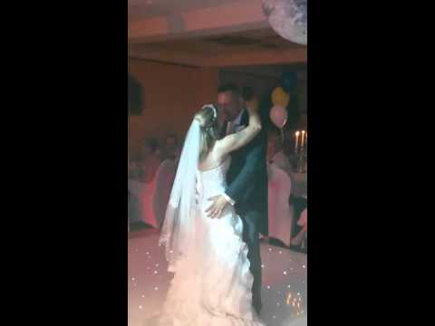 Marching On Together first wedding dance surprise