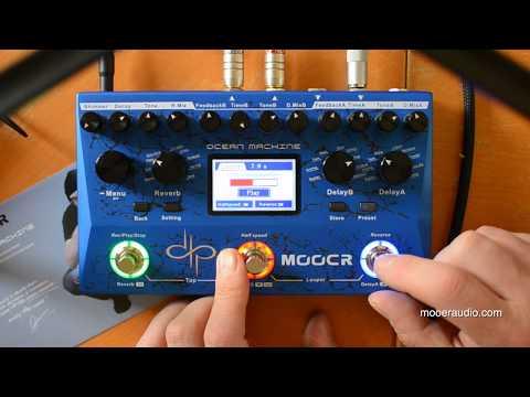 Mooer Audio: OCEAN MACHINE (taking a trip with...)