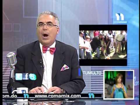 TELE NOTICIAS CANAL 11 , CON ROBERTO CAVADA