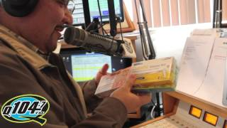 Ghetto Birthday Party on Q104.7's The Rico and Mambo Morning Show