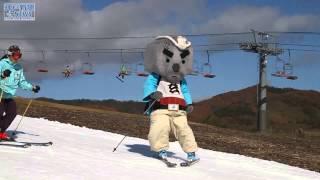 神鍋高原で人工スキー場オープン