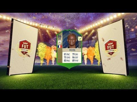 NIEUWE FRANSE ICON HALEN! ELITE FUT CHAMPS REWARDS! RTG #17 FIFA 18 ULTIMATE TEAM