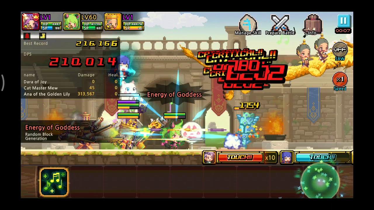 Crusader quest Ana first look (Crazy Magic gatling)