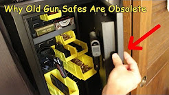 Why Old Fashioned Heavy Gun Safes Are Obsolete