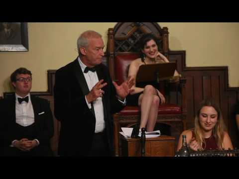 Jon Snow vs Nick Robinson | THB Westminster is Dead | Cambridge Union