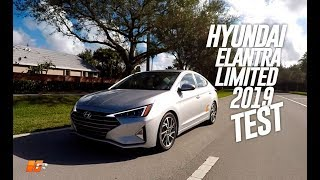Hyundai Elantra Limited 2019 TEST DRIVE - Real Car Test & Routiere - Pgm 522