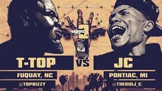 JC VS T-TOP SMACK/ URL RAP BATTLE | URLTV