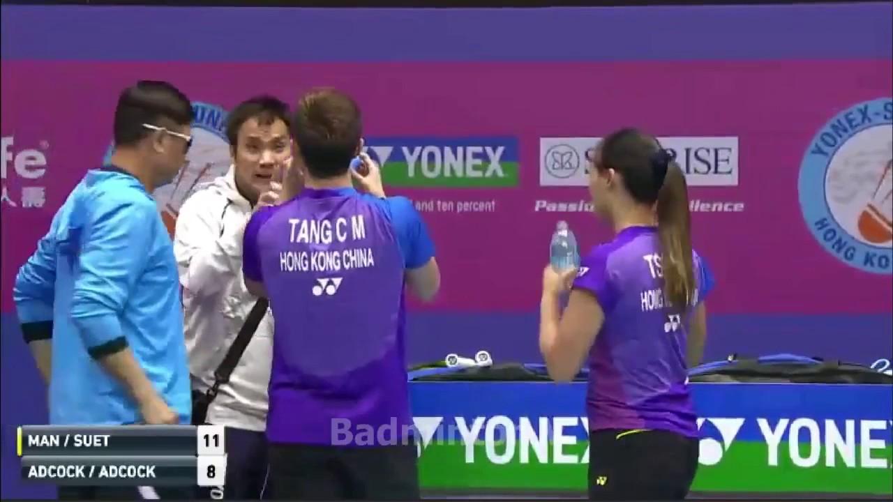 TANG Chun Man TSE Ying Suet vs Chris ADCOCK Gabrielle ADCOCK