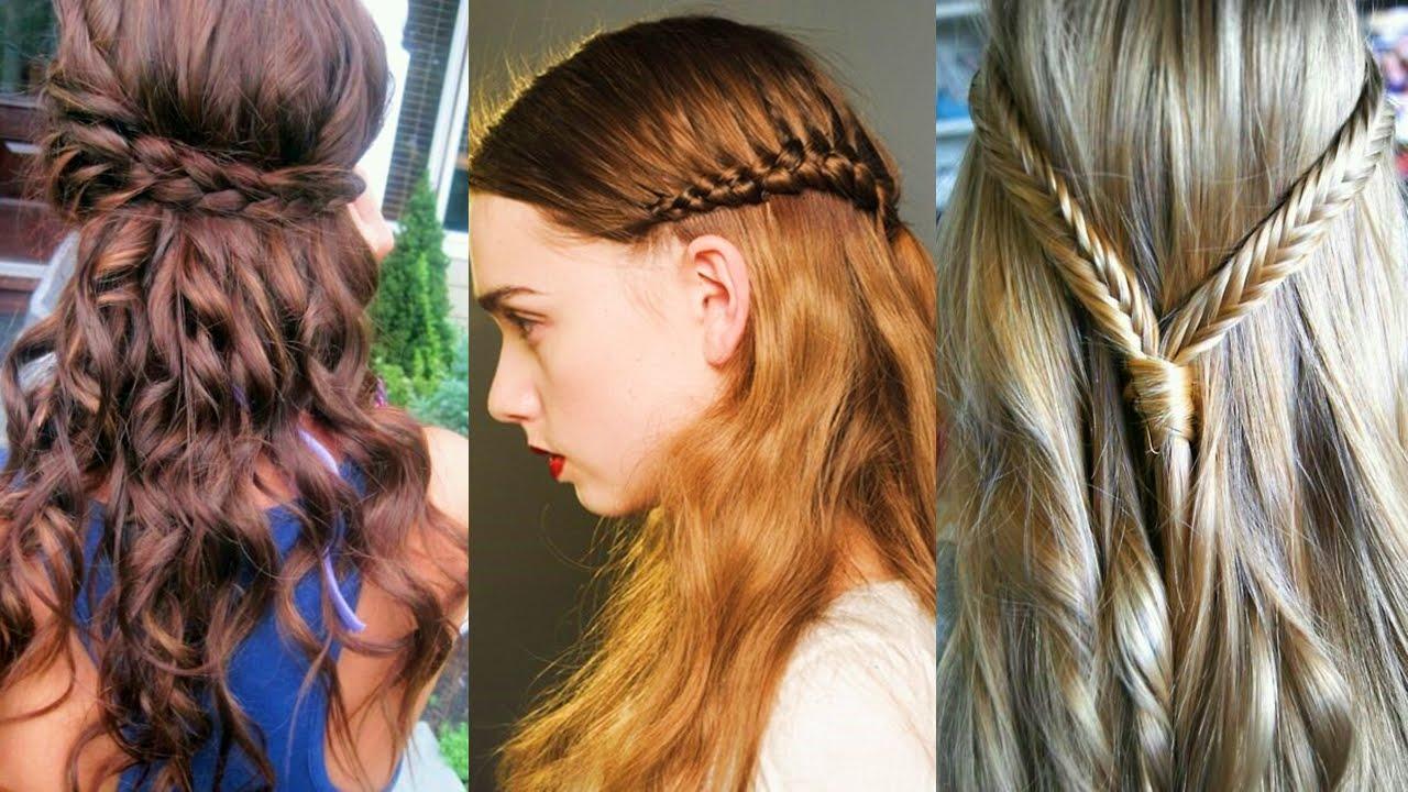Las mejores trenzas de moda para el 2016 youtube - Fotos peinados de moda ...