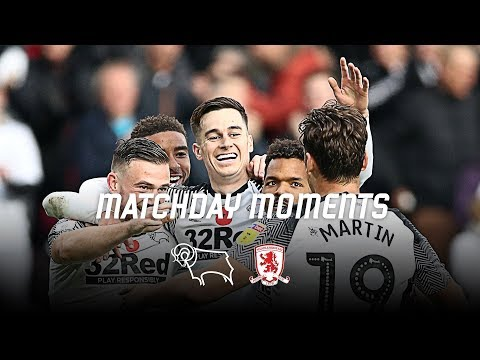 MATCHDAY MOMENTS   Middlesbrough